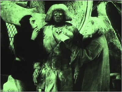Paul Wegener (director), Germany, 1874–1948, Carl Boese (director) Germany, 1887–1958, Film still from Der Golem: Wie er in die Welt kam (The Golem: How He Came into the World), 1920, Written by Paul Wegener and Henrik Galeen, Produced by Paul Wegener, B&W, silent