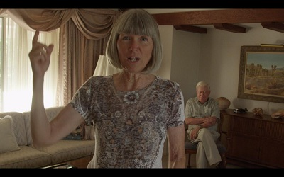 Still from Miller's video series Believing is Seeing featuring Redlands residents Diana Kriger and Harold Hartwick