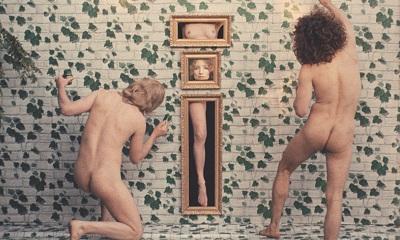 Viva!—Rado—Ragni—Varda in Hommage to Magritte, Agnès Varda's film LIONS LOVE (. . . AND LIES), 1968, © Max Rabb / Agnès Varda