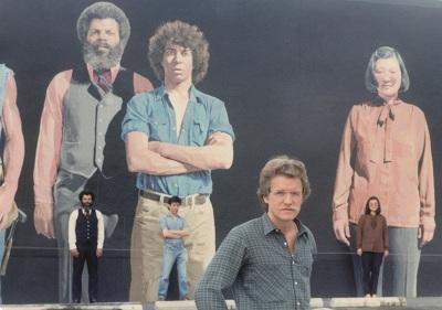 Agnès Varda's film Mur Murs (Mural Murals), 1980, ©ciné-tamaris