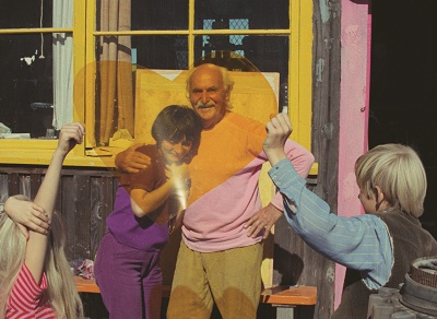 Still from the short film Uncle Yanco, Agnès Varda, 1967, © ciné-tamaris