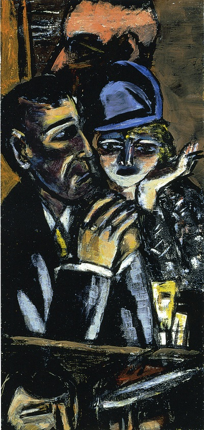 Max Beckmann, Bar, Braun, 1944, gift of Robert Looker