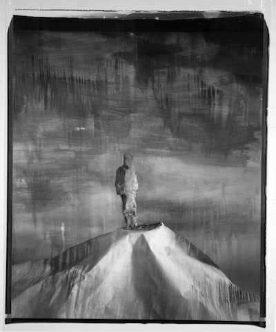 John Divola, Man on a Hill, 89MHA1, 1987–9, © John Divola