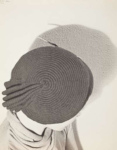 Ilse Bing, Knitted Round Cap, 1933, printed 1933, The Marjorie and Leonard Vernon Collection, gift of the Annenberg Foundation and Carol and Robert Turbin, © Estate of Ilse Bing