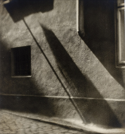 Josef Sudek, Wall Shadow, The Marjorie and Leonard Vernon Collection, gift of the Annenberg Foundation, acquired from Carol Vernon and Robert Turbin