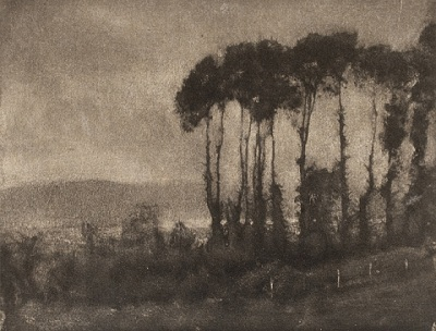 Robert Demachy, Toucques Valley, 1906, printed 1906, The Marjorie and Leonard Vernon Collection, gift of The Annenberg Foundation, acquired from Carol Vernon and Robert Turbin