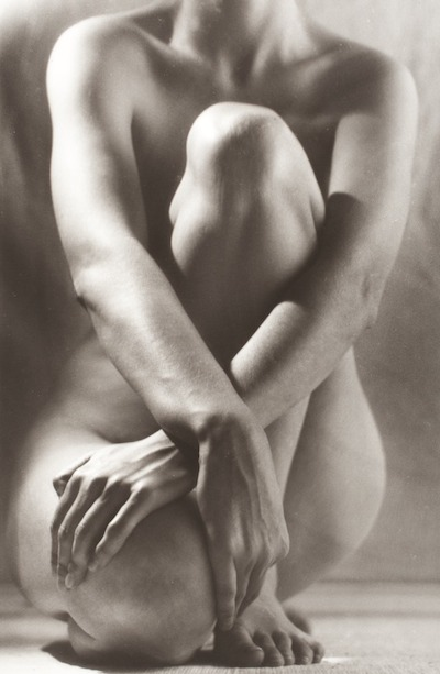 Ruth Bernhard, Classic Torso with Hands, 1962, The Marjorie and Leonard Vernon Collection, gift of the Annenberg Foundation, acquired from Carol Vernon and Robert Turbin, Ruth Bernhard Archive, Princeton University Art Museum, © Trustees of Princeton University