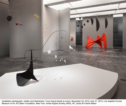 "Alexander Calder, ""Calder and Abstraction"" at LACMA."