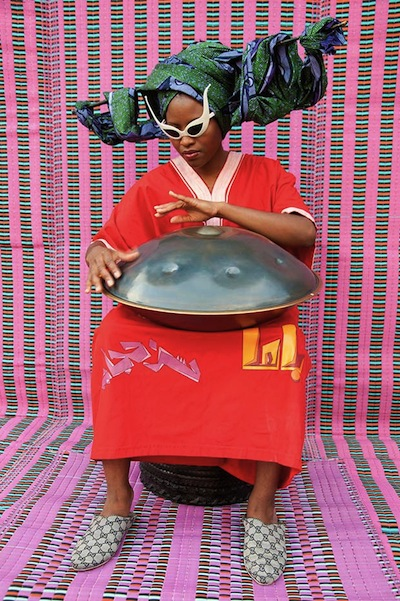 Hassan Hajjaj, still from My Rock Stars Experimental, Volume 1, Helen Venus Bushfire , 2012, Purchased with funds  provided by Art of the Middle East: CONTEMPORARY, courtesy of Rose Issa Projects