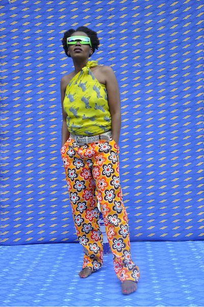Hassan Hajjaj, My Rock Stars Experimental, Volume 1, 2012, Mandisa Dumesweni, purchased with funds provided by Art of the Middle East: CONTEMPORARY, courtesy of Rose Issa Projects