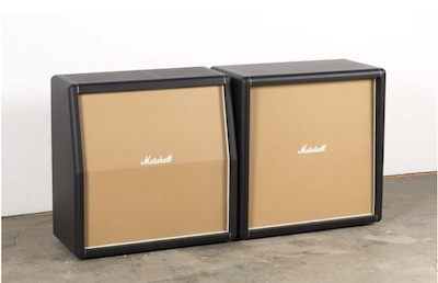 Kaz Oshiro, Marshal Speaker Cabinet (pair), horizontal, 2013, courtesy Galerie Perrotin, Hong Kong