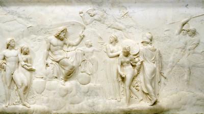 """John Deare, """"Judgment of Jupiter,"""" 1786–87, gift of Anna Bing Arnold"""