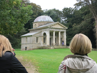 Garden Temple at Holkham Hall