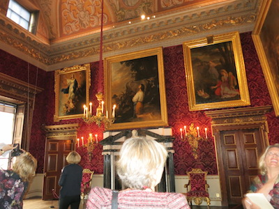 The Saloon at Houghton Hall