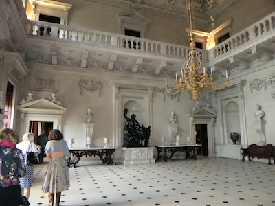 The Stone Hall at Houghton Hall