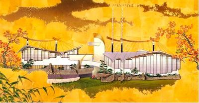 Illustration of the Pavilion for Japanese Art