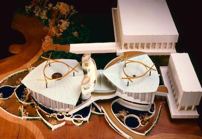 Model of the Pavilion for Japanese Art, © Museum Associates/LACMA
