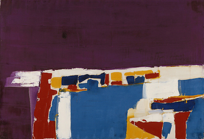 Nicolas de Stael, View of Marseille, c. 1955, Modern Art Department, Estate of Hans G. M. De Schulthess © 2014 Artists Rights Society (ARS), New York / ADAGP, Paris
