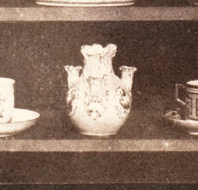 William Henry Fox Talbot, Articles of Porcelain (detail), c. 1844, the Marjorie and Leonard Vernon Collection, gift of the Annenberg Foundation, acquired from Carol Vernon and Robert Turbin