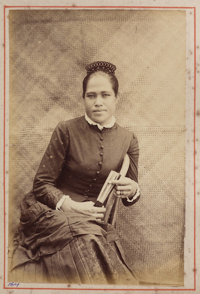 Title: Thomas Andrew, Samoan half case. From the album: Views in the Pacific Islands, 1886, courtesy of Te Papa Tongarewa Museum of New Zealand