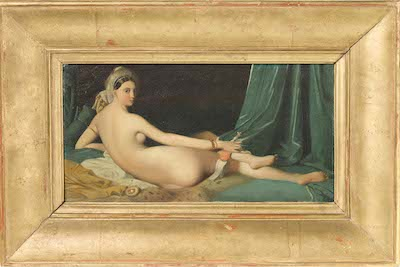 Jean-Auguste Dominique Ingres, Odalisque, c. 1825–35, photo © 2014 Museum Associates/LACMA