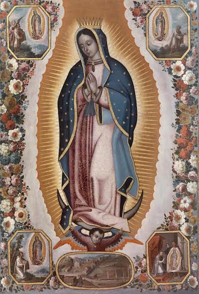 Antonio de Torres, Virgin of Guadalupe (Virgen de Guadalupe), c. 1725, gift of Kelvin Davis through the 2014 Collectors Committee