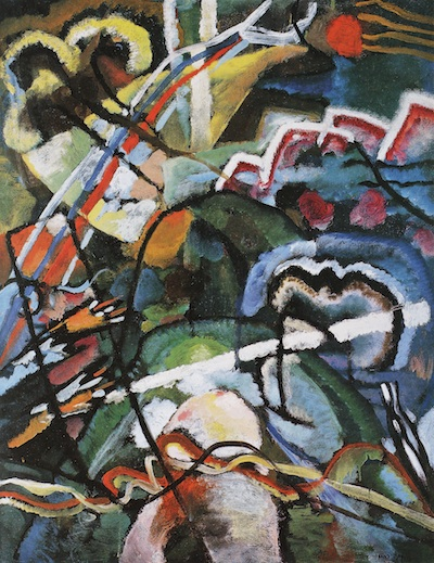Wassily Kandinsky, Sketch I for Painting with White Border, 1913, Phillips Collection, © 2013 Wassily Kandinsky/ Artists Rights Society (ARS), New York/ADAGP, Paris, photo © The Phillips Collection