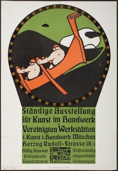 Bruno Paul, Ständige Ausstellung für Kunst im Handwerk (Permanent Exhibition for Art in Handicraft), 1904, gift of Joel and Margaret Chen of J. F. Chen through the 2014 Decorative Arts and Design Acquisition Committee (DA2)