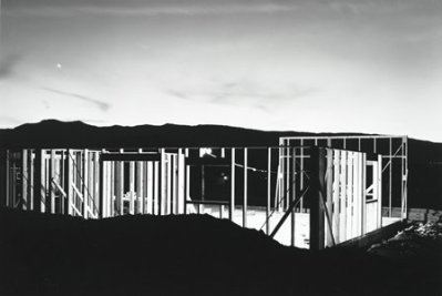 Lewis Baltz, Night Construction, Reno, 1977, gift of Joe Deal, © Lewis Baltz, courtesy Galerie Thomas Zander, Cologne