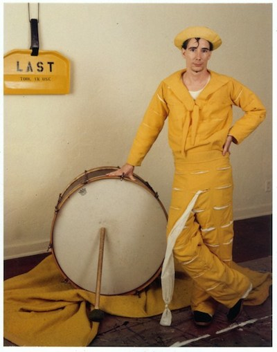 Mike Kelley, Banana Man Costume, 1981, courtesy Mike Kelley Foundation for the Arts