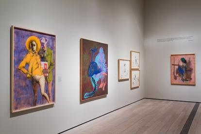 "Installation view, ""John Altoon,"" June 8, 2014-September 14, 2014, Los Angeles County Musuem of Art, © 2014 Estate of John Altoon. | Photo: © 2014 Museum Associates/LACMA"