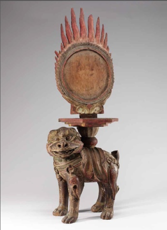 Unknown artist, Karma Mirror and Stand, 19th century, National Museum of Korea, Seoul, photo © National Museum of Korea