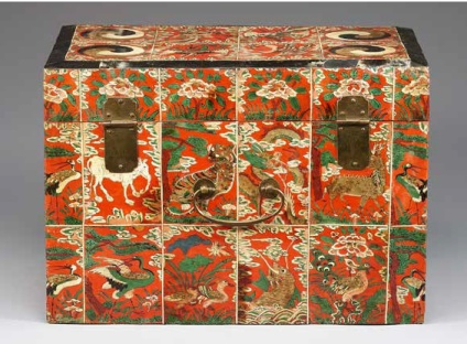 Box with Ox-Horn Decoration, late 19th century, National Museum of Korea, Seoul, photo © National Museum of Korea