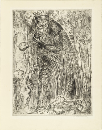 Wilhelm Lehmbruck, Macbeth V, 1918, Los Angeles County Museum of Art, gift of Donavon W. and Mary C. Byer