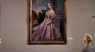 Still from Vertigo, 1958