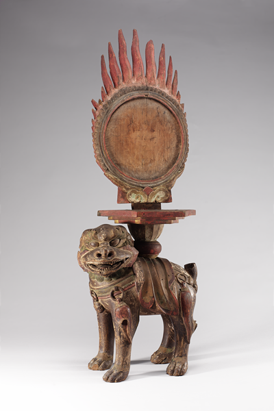 Karma Mirror and Stand, 19th century, National Museum of Korea, Seoul, photo © National Museum of Korea