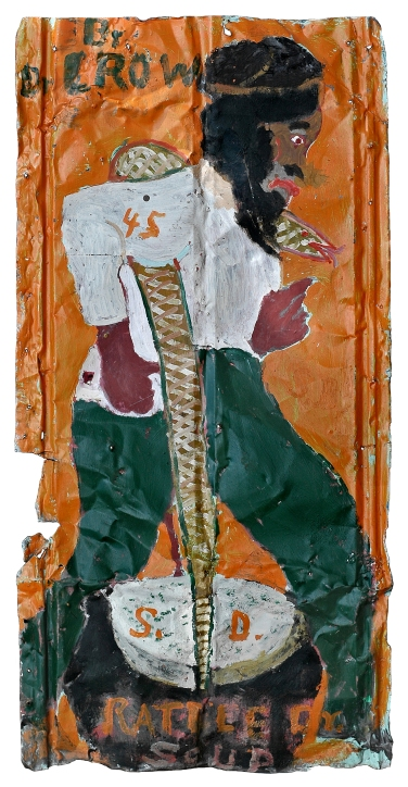 Sam Doyle, Dr. Crow, 1970–83, Gordon W. Bailey Collection