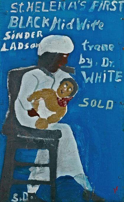 Sam Doyle, First Black Midwife, 1978–83, Gordon W. Bailey Collection