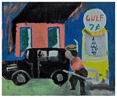 Sam Doyle, Gulf 7¢, 1982–85, Gordon W. Bailey Collection