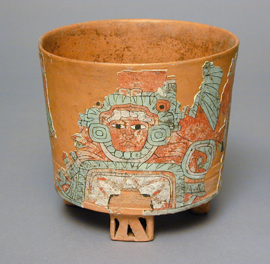 Tripod Vessel, Mexico, Teotihuacan, Teotihuacán, 400–650, Gift of Constance McCormick Fearing.