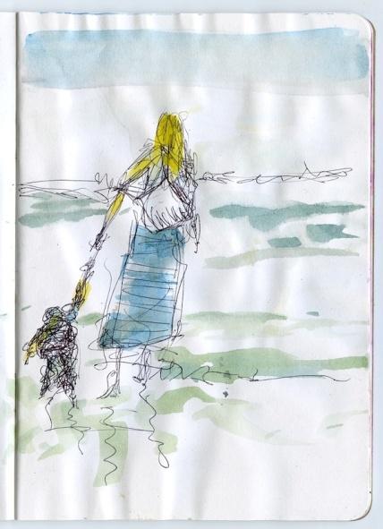 A sketch by George Evans